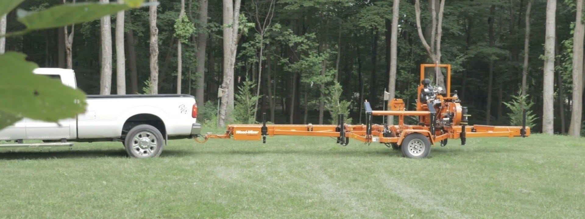 Wood-Mizer portable sawmill