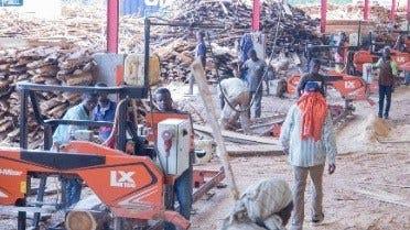 Une entreprise ivoirienne de transformation du bois ouvre la voie avec Wood-Mizer