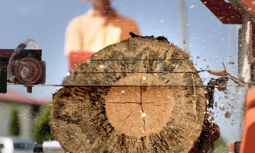 Wood-Mizer scierie lames mobile